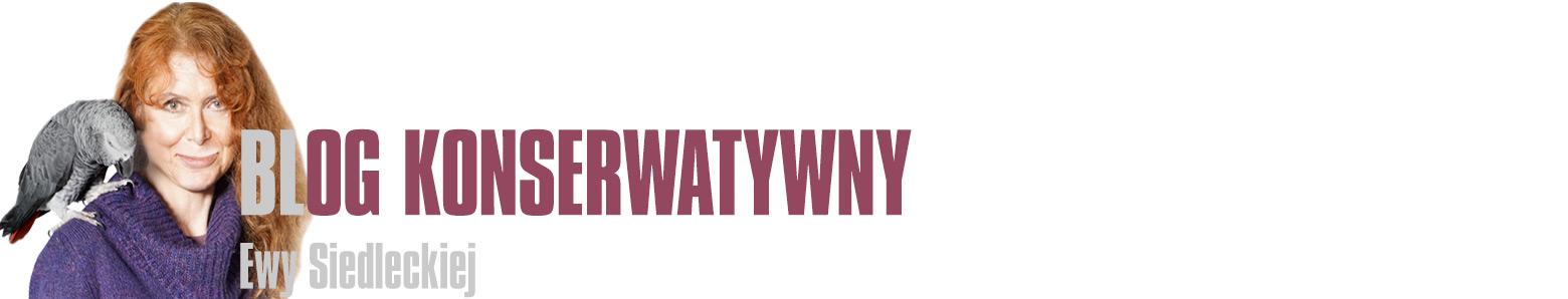 Blog Konserwatywny Ewy Siedleckiej - Kolejna witryna oparta na WordPressie